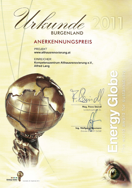 Presse_Energy_Globe_Urkunde
